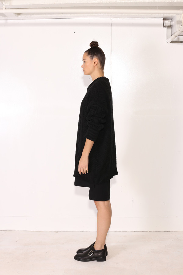 Unisex Intentionally Blank BACOPA SWEATER Black