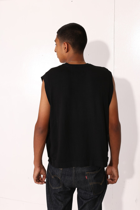 Men's Intentionally Blank CANNA TOP Black