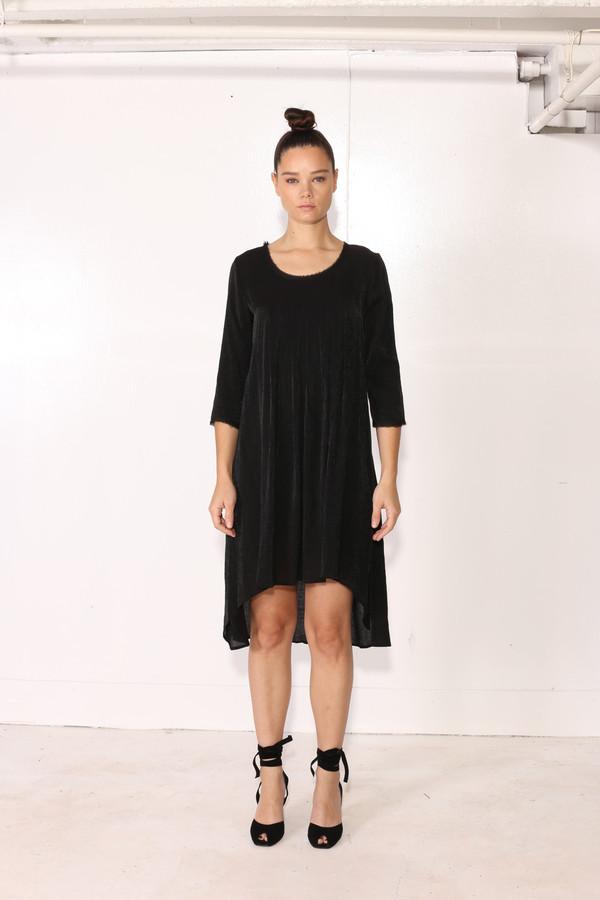 Intentionally Blank CINN BABYDOLL DRESS Black
