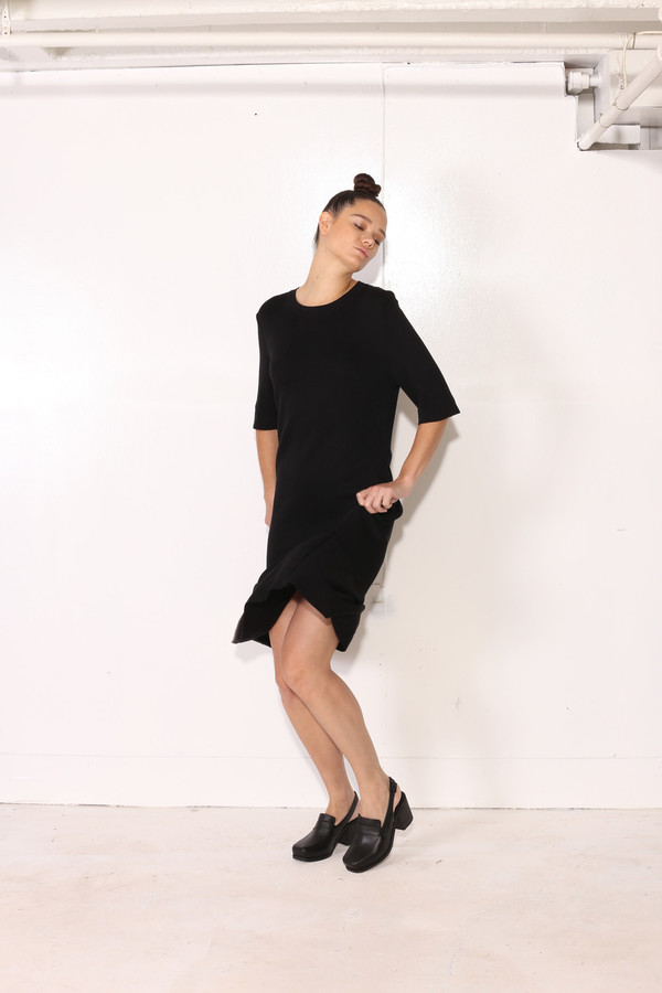 Intentionally Blank PHLOX DRESS Black