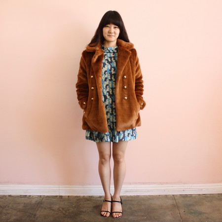 Samantha Pleet Bear Coat