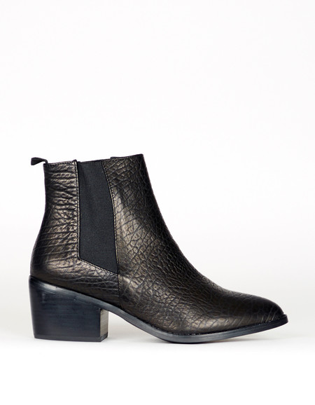 Sol Sana Edgar Boot Elephant Black Leather