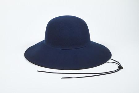 Clyde Ryo Hat in Navy w. Drawstring