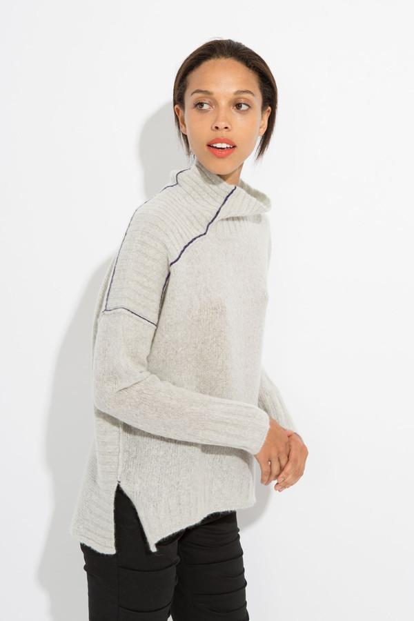 Paychi Guh Cozy Mock Pullover
