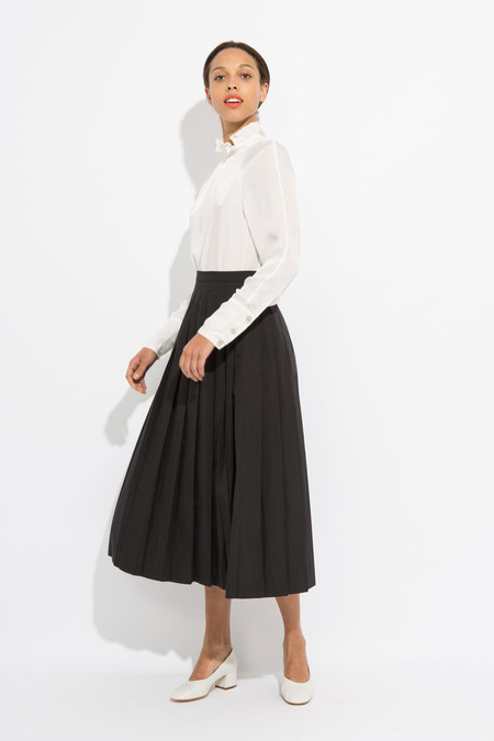 Suzanne Rae Pleated Skirt