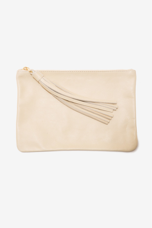 moses nadel Pouch Large Cream