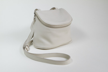 Clyde Camera Bag in Stone Leather