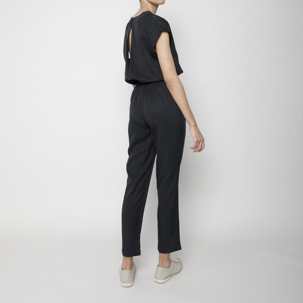 7115 by Szeki V-Neck Jumpsuit
