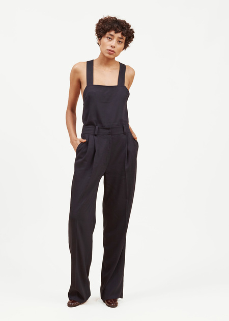 Waltz Wide Leg Pleated Trouser