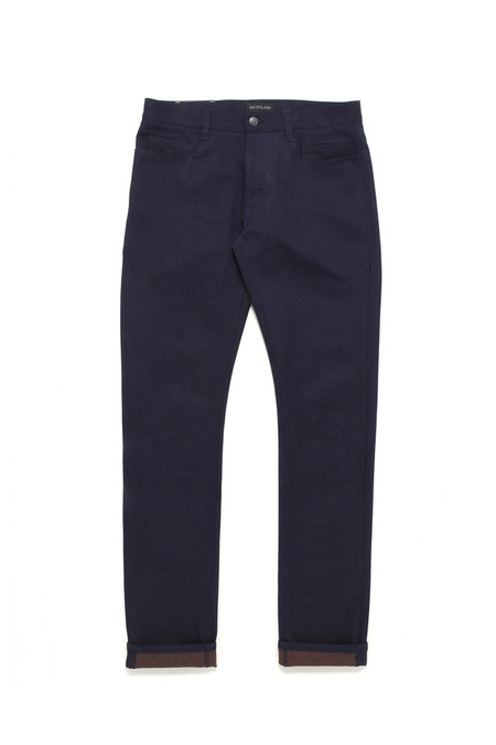 Men's Outclass Indigo Orange Weft Denim