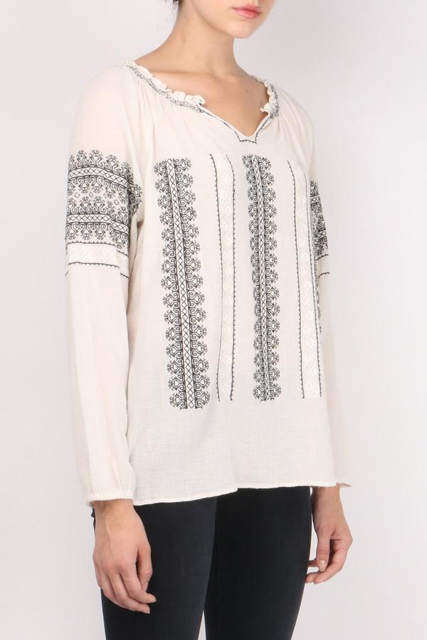Sita Murt Embroidered Peasant Top