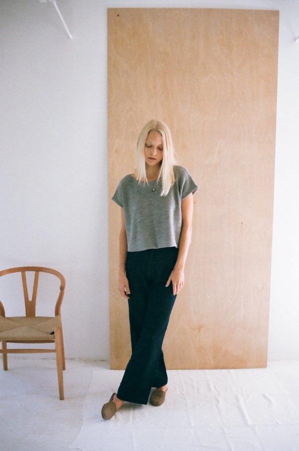 Han Starnes Knit Top - Gray
