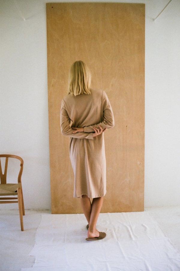 Han Starnes Jersey Dress - Nude