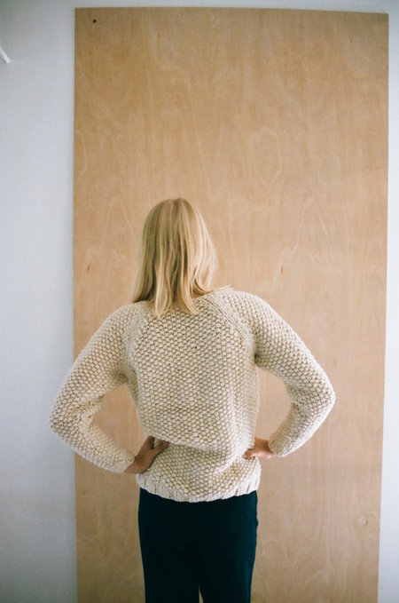 Han Starnes Andean Sweater - Cream