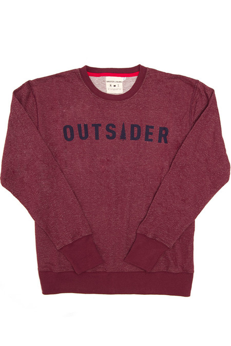 Men's Bridge & Burn Columbiaknit Outsider Sweatshirt Burgundy