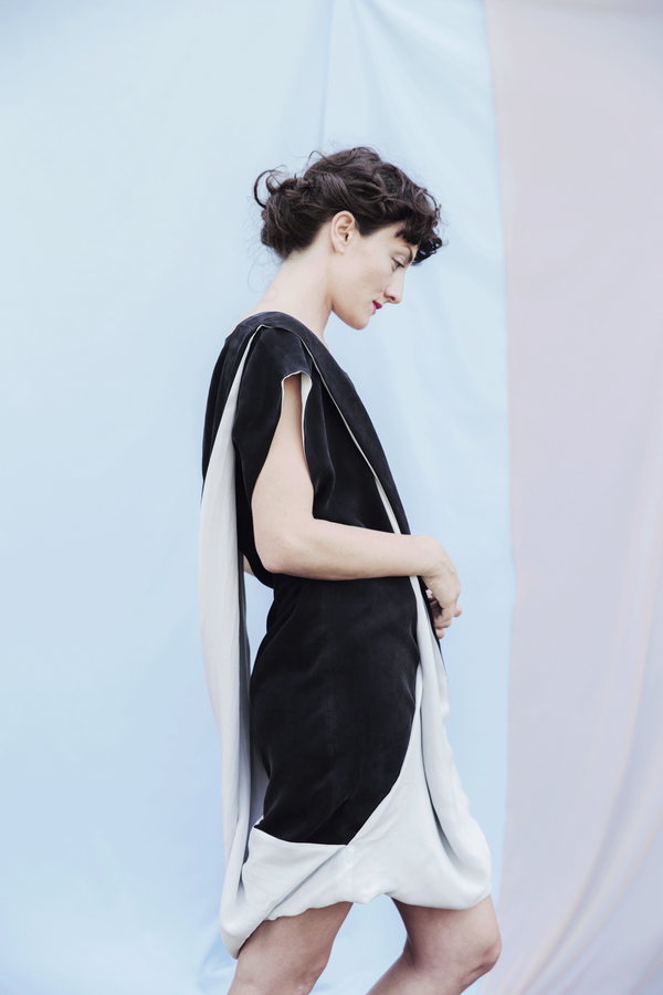 Portland Garment Factory Twist Dress
