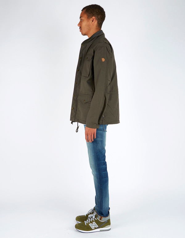 Men's Fjallraven Raven Jacket Mountain Grey