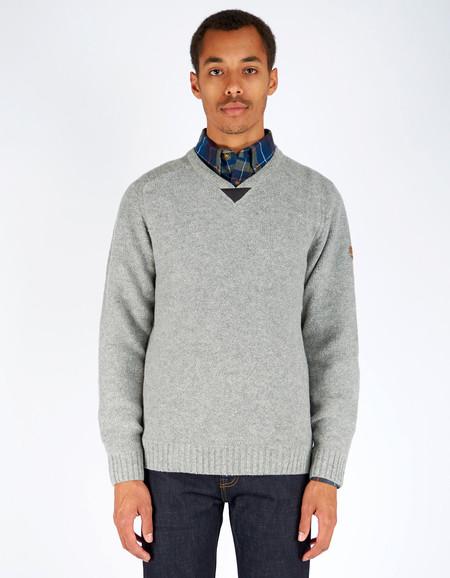 Men's Fjallraven Woods Sweater Grey