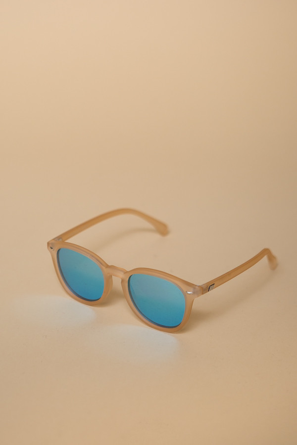 Le Specs Bandwagon Sunglasses / Raw Sugar