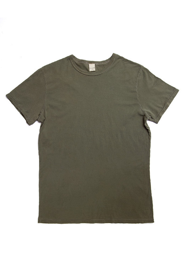 Men's Bridge & Burn Slim Crew Olive