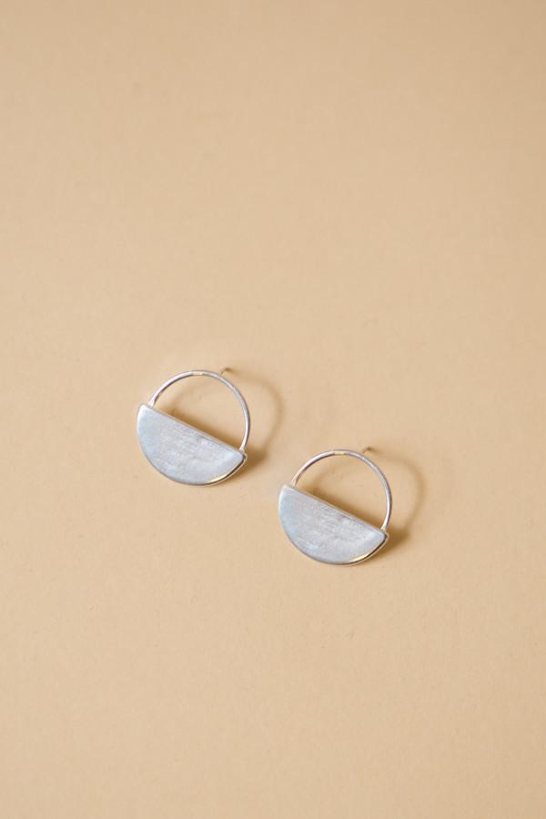 Seaworthy Sol Post Earrings / Silver