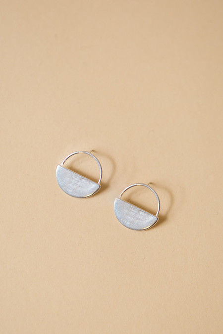 Seaworthy Sol Post Earrings / Silver