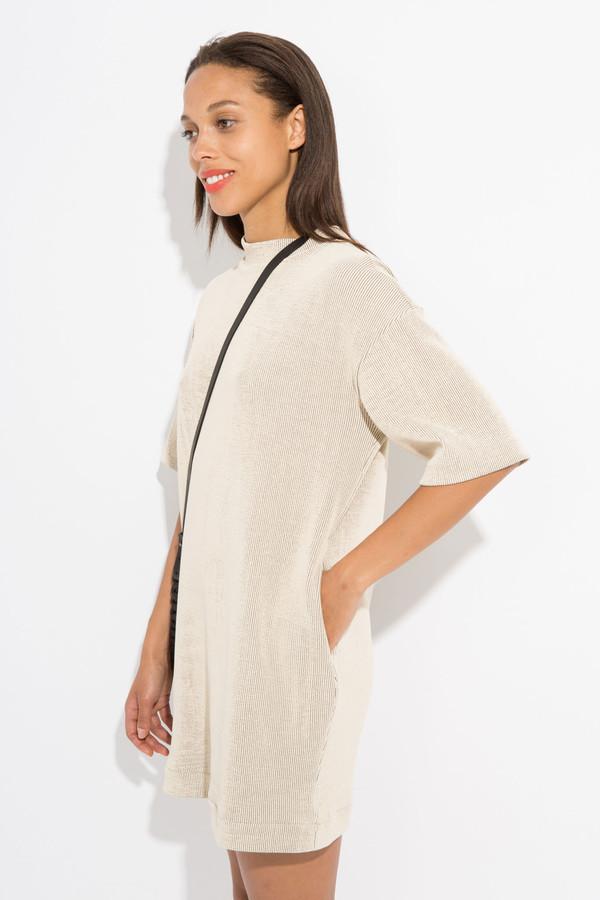 Enda Owen Short T-Shirt Dress - Tan