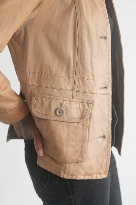 The Shudio Vintage Butter Leather Jacket