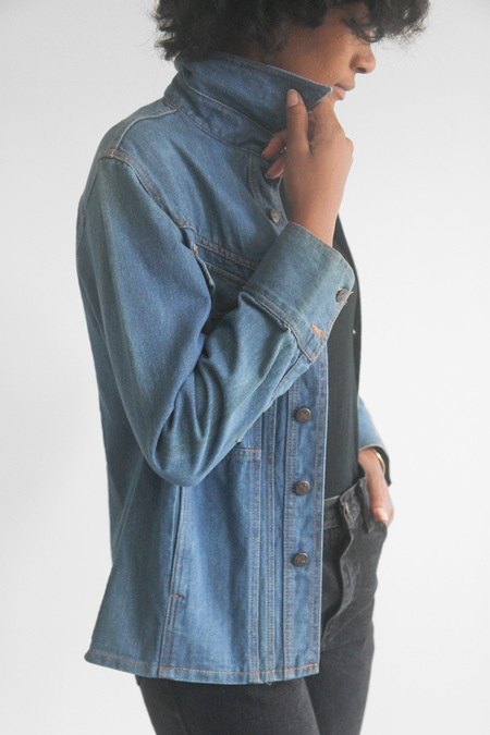 The Shudio Vintage Britannia Denim Jacket