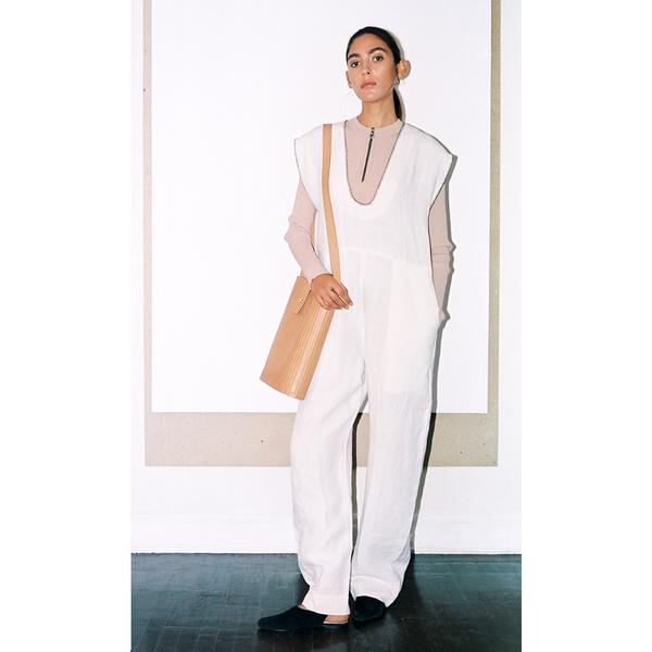 Leda Linen Jumpsuit-S