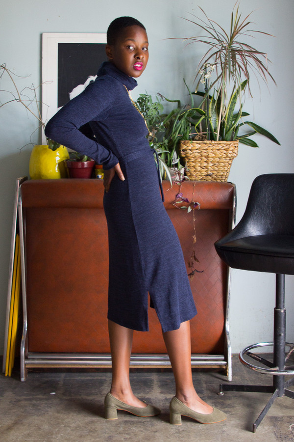 Dagg & Stacey Willis Turtleneck Dress