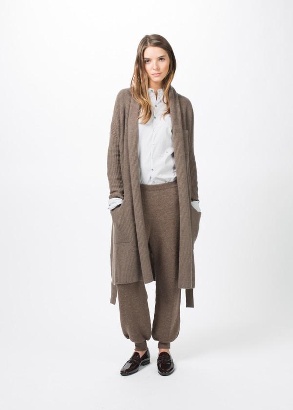 SCHAI Cashmere Blanket Cardigan