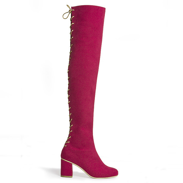 Rafa Stick Boot – Ruby