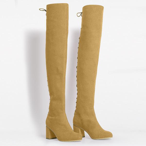 Rafa Stick Boot –Sahara