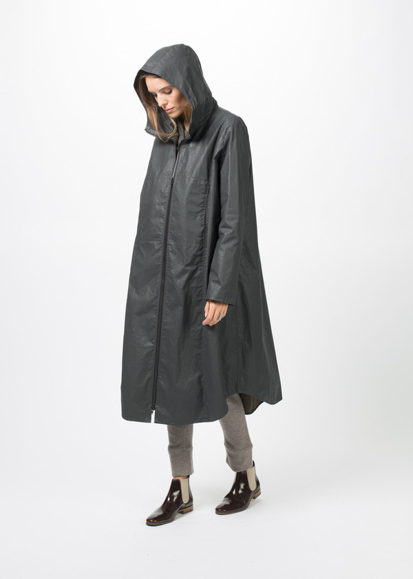 Hudson High Pocket Long Coat