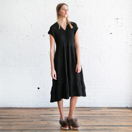 Gary Graham Shepherdess Dress Black