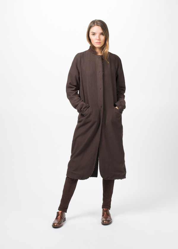 Kristensen du Nord Long Wool Trench
