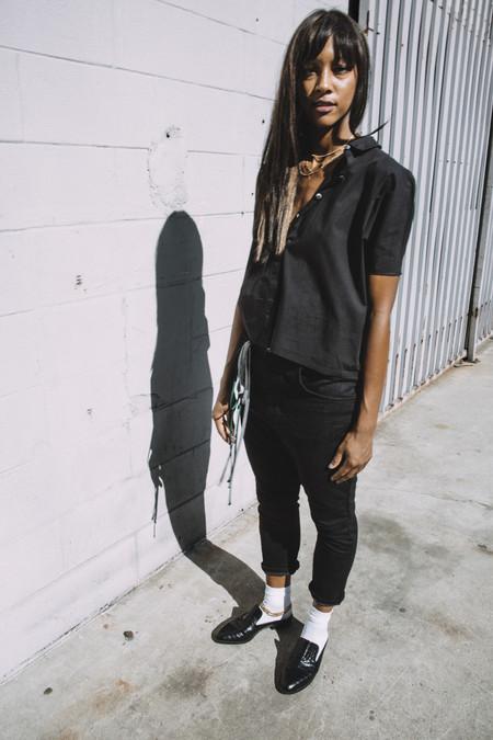 THE SQUAD BLACK POPLIN KELLY