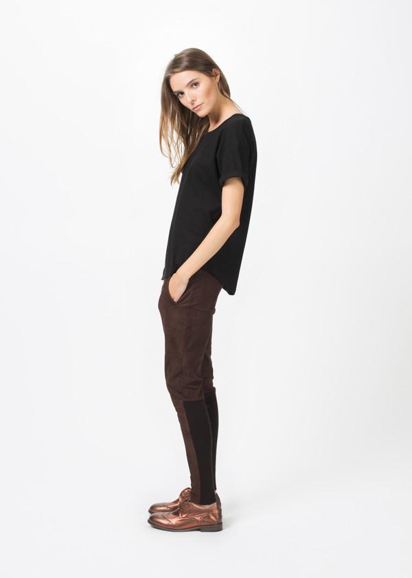 Kristensen du Nord Tapered Leather Trouser