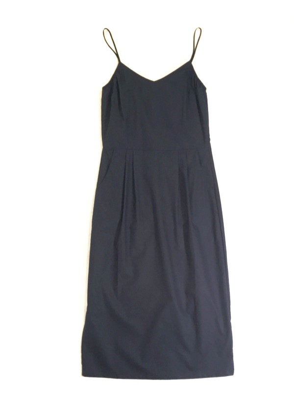 Objects Without Meaning Strappy Dress / Navy