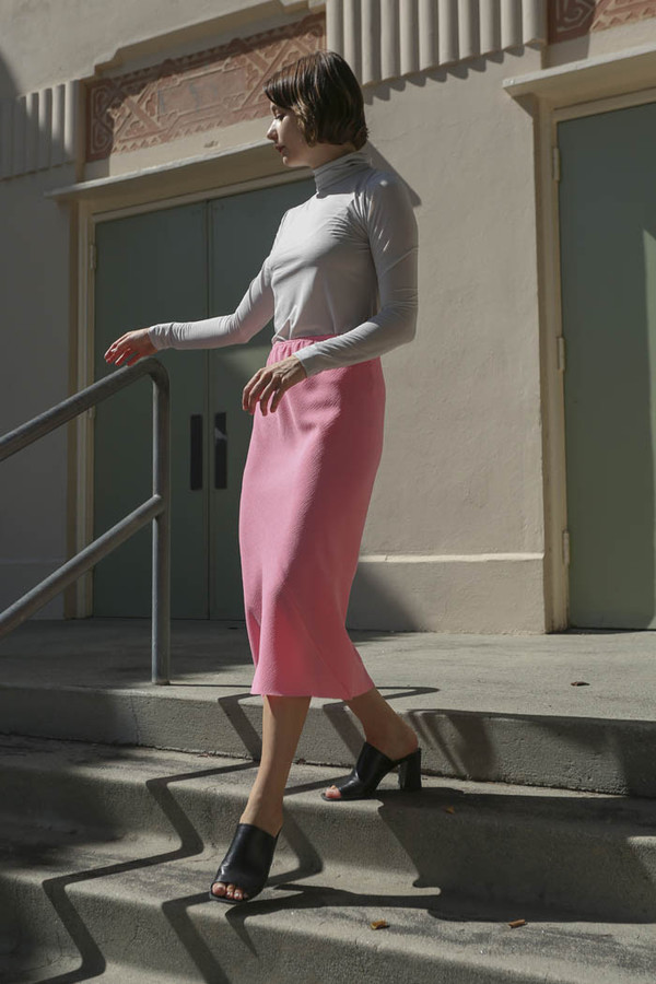 A Détacher Singrid Skirt in Pink