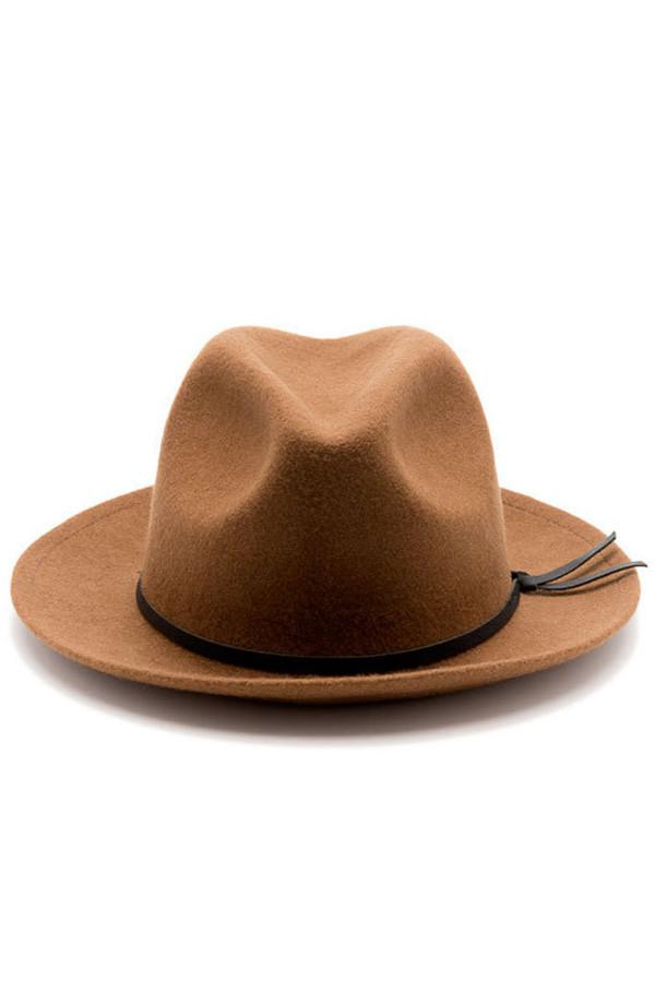 Yellow108 Luke Hat Caramel Wool