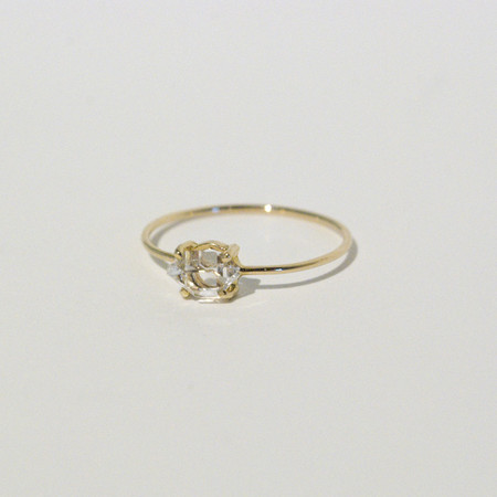 Kristen Elspeth - Herkimer Diamond Ring