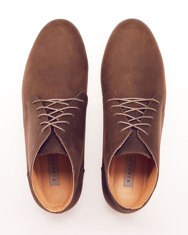 Men's Nisolo Emilio LE Chukka Boot Oak 5 for 5