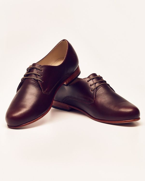 Nisolo Oliver Oxford Brandy 5 for 5