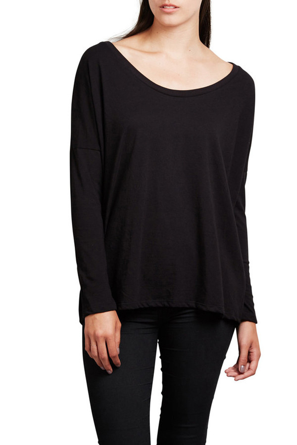 Mainline Basics The Perfect Kind of Slouchy Tee for When You Don't Really Want to Try