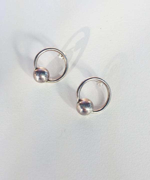 Young Frankk Orb Earrings