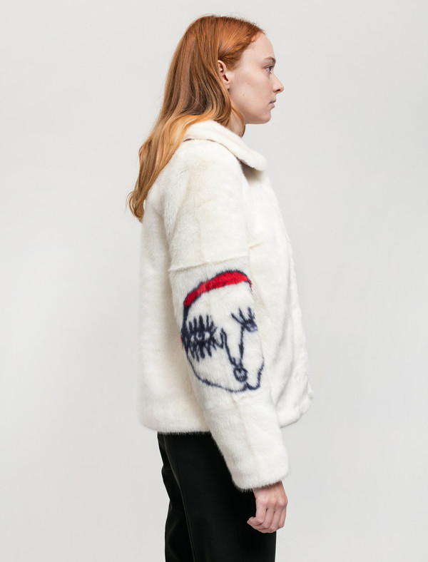 Shrimps Womens Junior Coat Cream