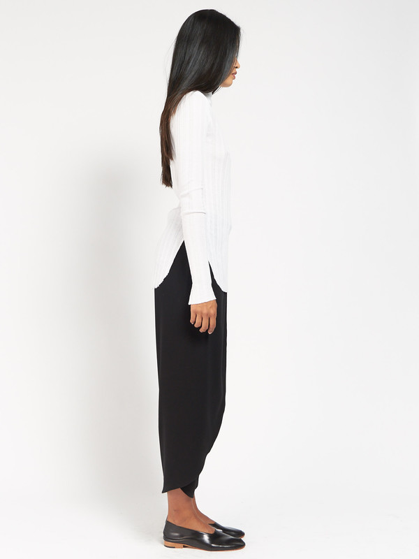 Skin Imogen Turtleneck White