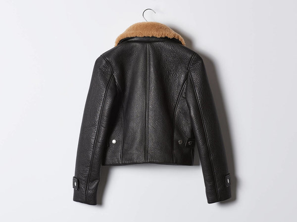 Acne Studios Acne Felipa Leather Jacket
